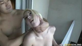 AMWF KOREAN MAN INTERRACIAL SEX  WOMAN