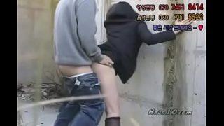 Korean public sex.
